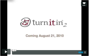Vimeo video turnitin 2 demonstration